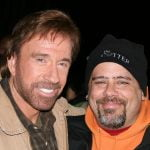Chuck Norris and Web Designer/Photographer Timothy Eberly