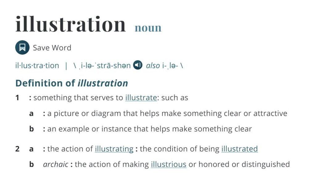 Definition of Illustration