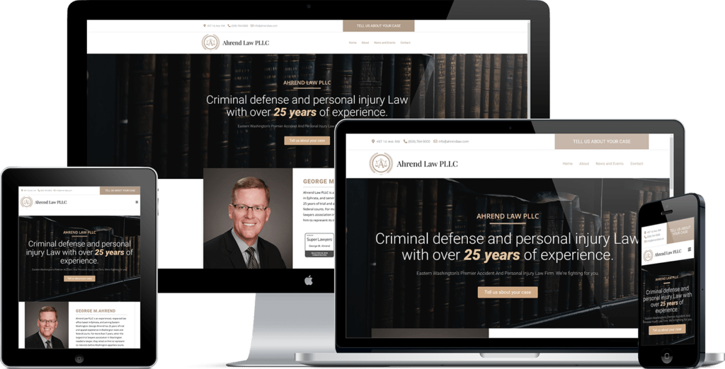 Ahrend Law Website